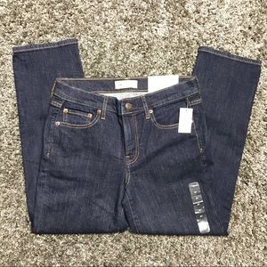 NEW GAP Low Stretch Cropped Jeans Size 27